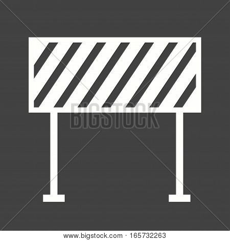 Barrier, security, hurdle icon vector image. Can also be used for firefighting.