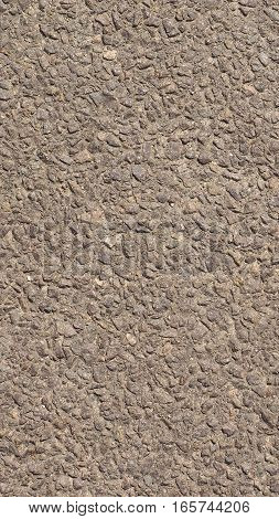 Brown Concrete Pavement Background - Vertical