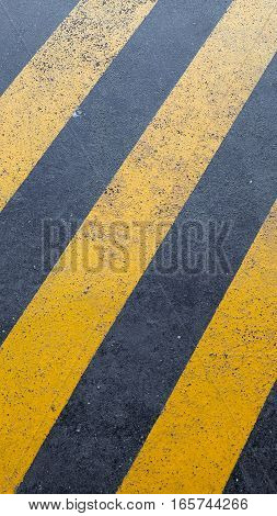 Yellow And Black Stripes - Vertical