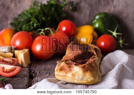 Strudel With Vegetables