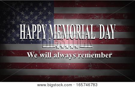 Happy Memorial Day Background