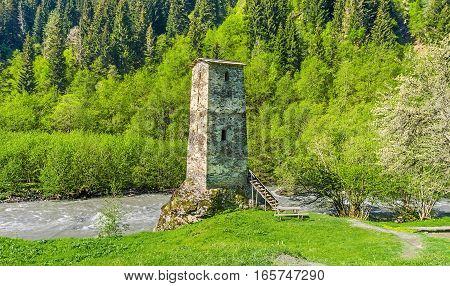 The Svan Tower