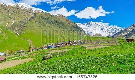 Traveling To Caucasus Peaks