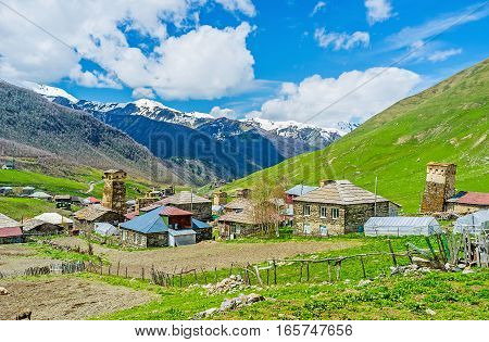 The Historic Comunity In Mountains