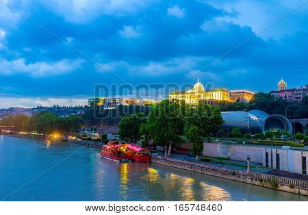 The Twilight In Tbilisi