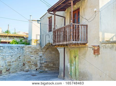 The Housing In Mountain Cyprus