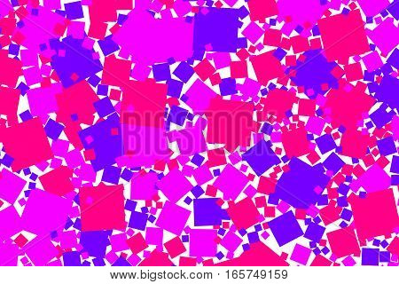 Abstract Background With Flat Pixels. Pattern For Cleaning Concept.