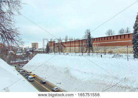 Nizhny Novgorod. View of the Nizhny Novgorod Kremlin