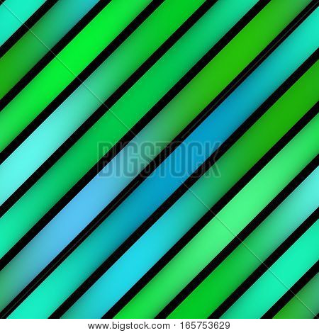 Parallel Gradient Stripes. Abstract Geometric Background Design. Multicolor Pattern.