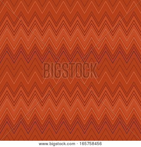 Seamless zigzag hatch pattern. Geometric stripy background. Wedged, striped, line lace texture. Stockings, lingerie, hosiery, garter, undies material theme. Red, orange, pastel colored. Vector