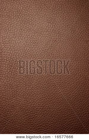 Brown leather texture - Macro