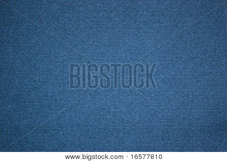 Background image of a blue fabric texture