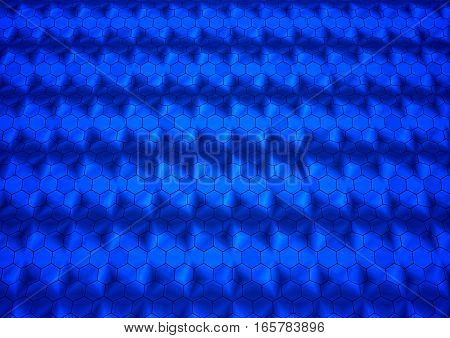 Abstract geometrical background 3d illustration or backdrop. 3D rendering.