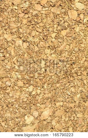 Cork wood texture close up vertical photo