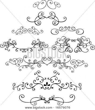 Ornaments 4 Vector Illustration