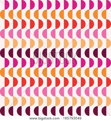 Samples geometric pink pattern. Vector seamless pattern. Modern stylish texture