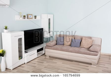 Interior Of A Modern Empty Living Room