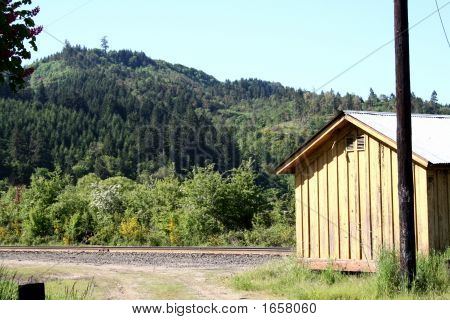 Old Rail Road Shack