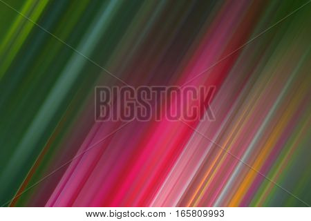 Rays of lines with dark green and pinky red gradient color