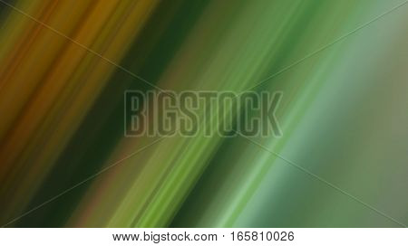 Rays of lines with green minty and orange gradient color