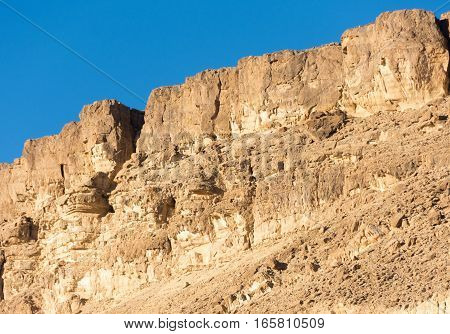 Rock Formations In  The Southern Israel Negev Desert