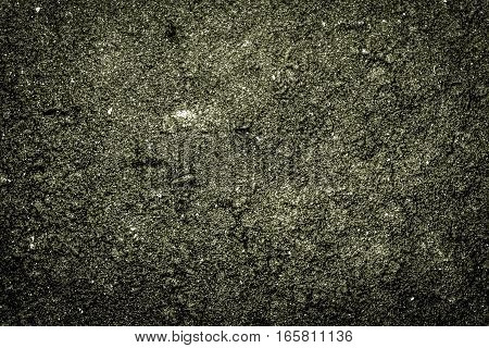 Texture of the soil, soil texture, nature background, green soil, dark green, marsh color, grunge nature background, ground