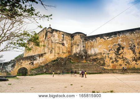 Fort Jesus Museum In Mombasa, Kenya, East Africa