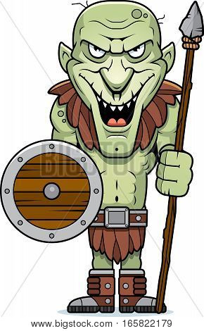 Cartoon Goblin Spear