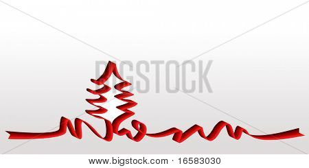 Graphic Christmas ribbon - - - -