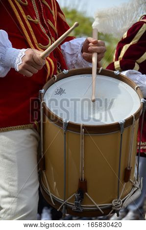 Drummers and trumpeters of Oristano - Sardinia