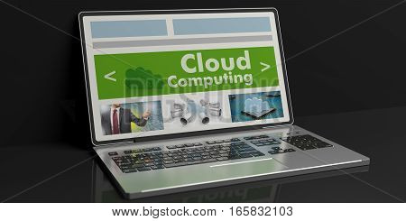 3D Rendering Cloud Computing On A Laptop