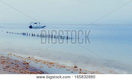 Fisher Boat on Nusa Penida, Bali - Indonesia