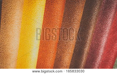 Natural variegated fabric suede background closeup texture