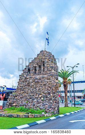 The Ottoman Ruins In Tiberias