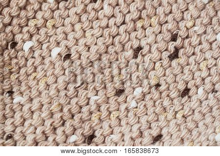 Abstract knitted Wool horizontal background. Wool soft fluffy texture