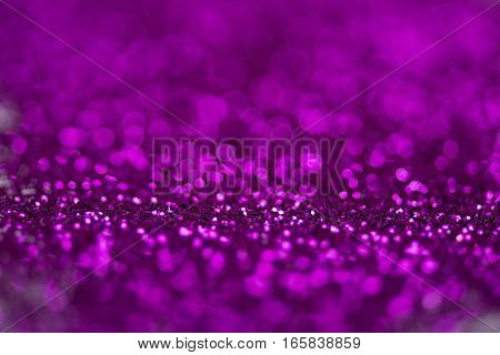 Crisp pink eyeshadow makeup blurry bokeh background
