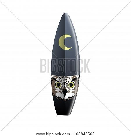 Isolated Surfboard