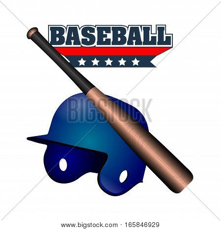 Isolated Baseball Emblem