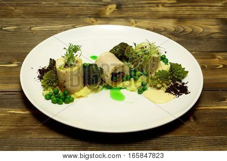 White Fish Fillet Rolls