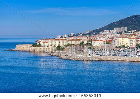 Ajaccio. Coastal Cityscape, Corsica