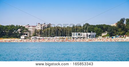 Central Public Beach Of Burgas, Panorama