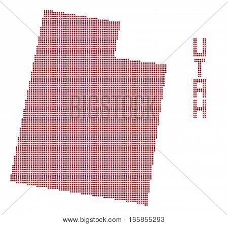 Utah Dot Map