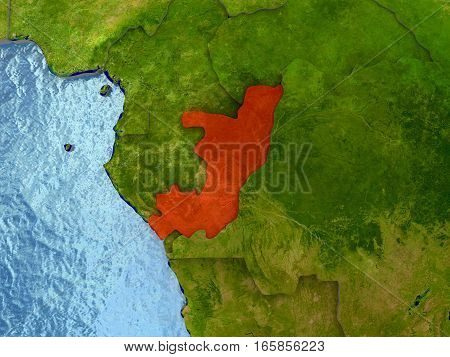 Congo In Red