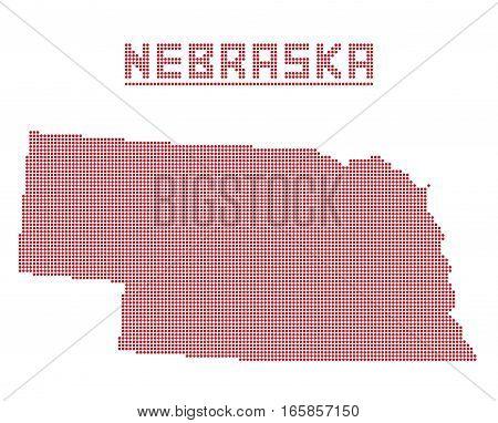 Nebraska Dot Map