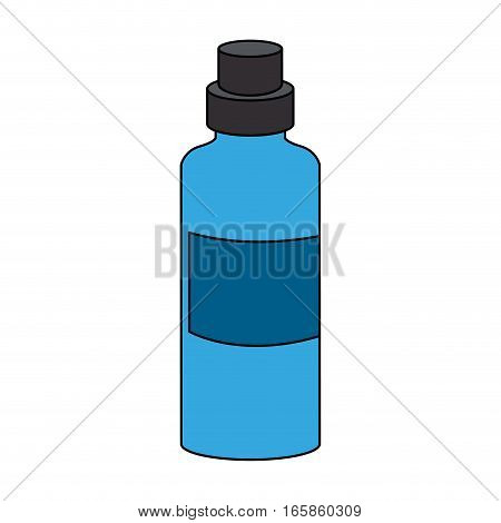 water bottle icon over white background. colorful design. vector illustration