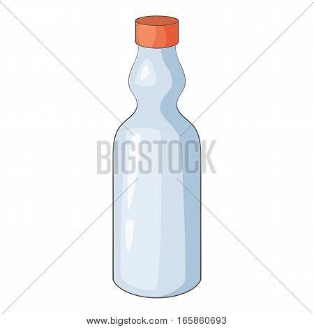 Plastic bottle icon. Cartoon illustration of plastic bottle vector icon for web design