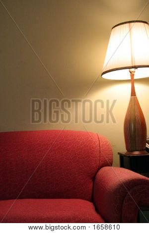 Lamp And Couch