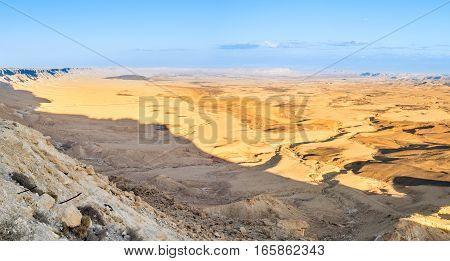 Sunset At Ramon Crater (makhtesh)