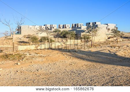 Desert Homes In The Israel Negev