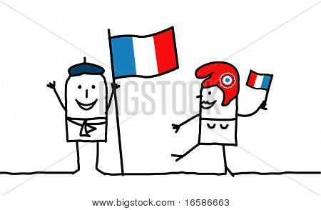 People and France